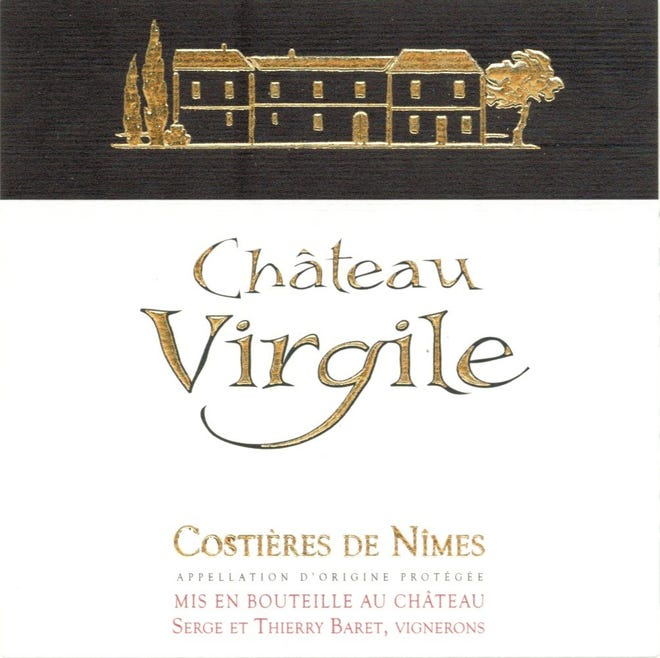 2020 ChateauVirgile Costieres de Nimes Rose
