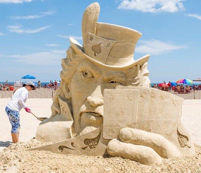 2021 Hampton Beach NH Sand Sculpting Classic winners crowned