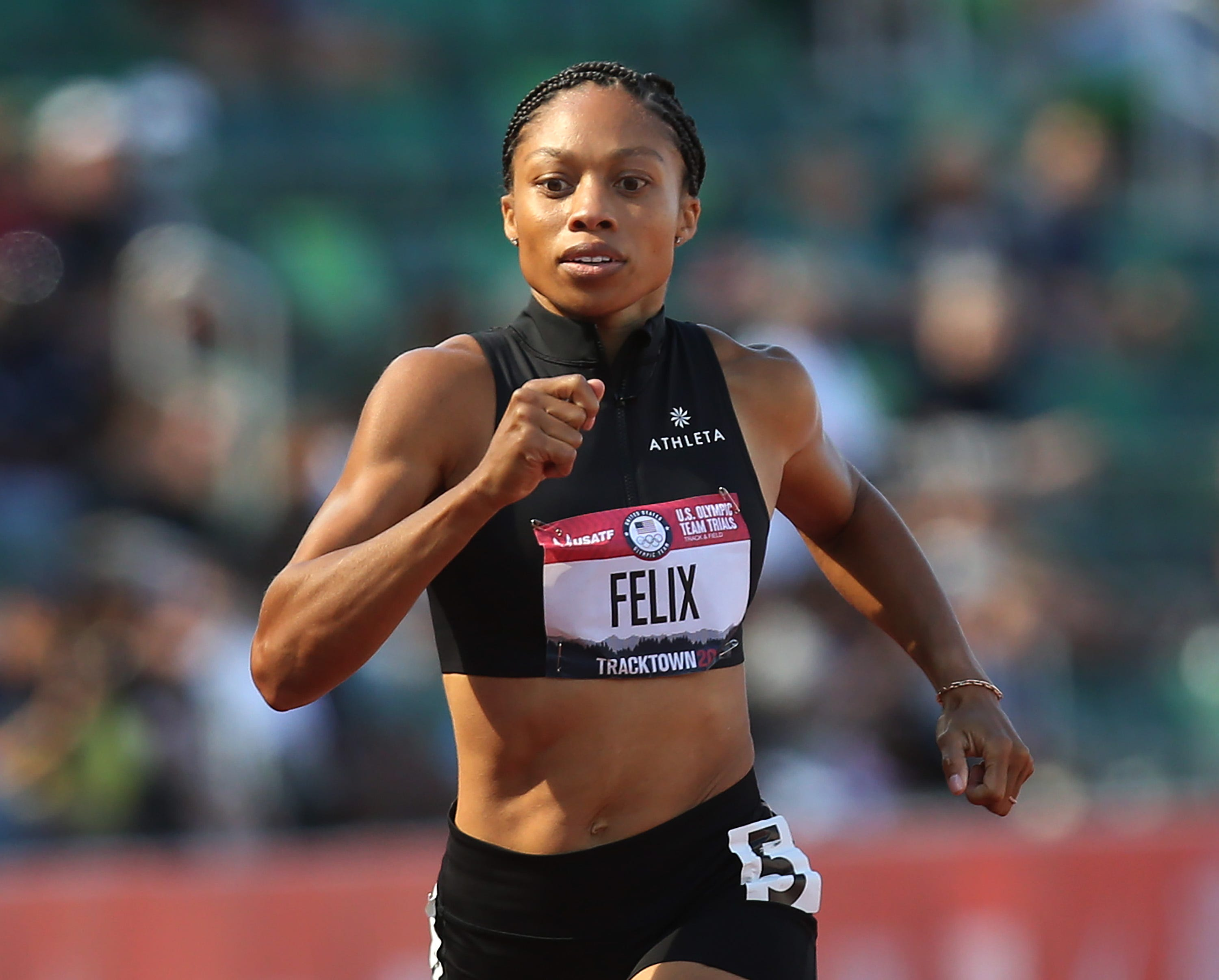 Allyson Felix officially punches ticket to fifth Olympic Games – and her first as a mom
