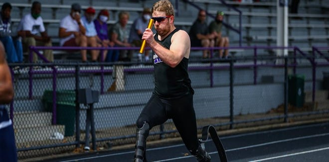 Former Mount Union sprinter AJ Digby was hoping to become a Paralympian for the second time this weekend.