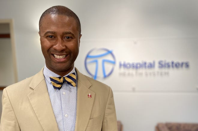 Damond Boatwright, the new president and CEO of the Hospital Sisters Health System based in Springfield.