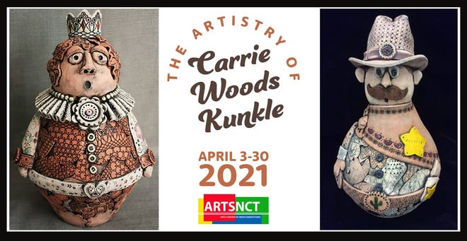 Carrie Kunkle's art was a hit at ARTSNCT.