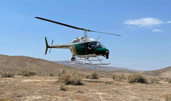 Sheriff's Air2 located and rescued ,missing 88-year-old man
