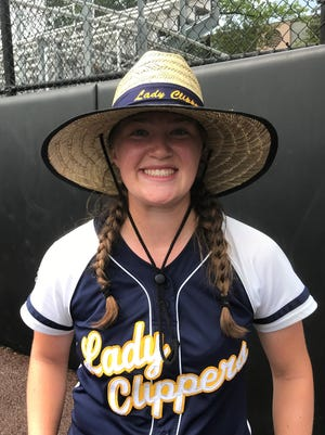 Clayton's Allyson Koerner helped power the Lady Clippers into the Tournament of Champions semifinal round. She tossed a three-hitter and drove in four runs.
