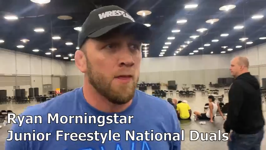 Ryan Morningstar and Team Iowa win the 2021 Junior Freestyle National Duals
