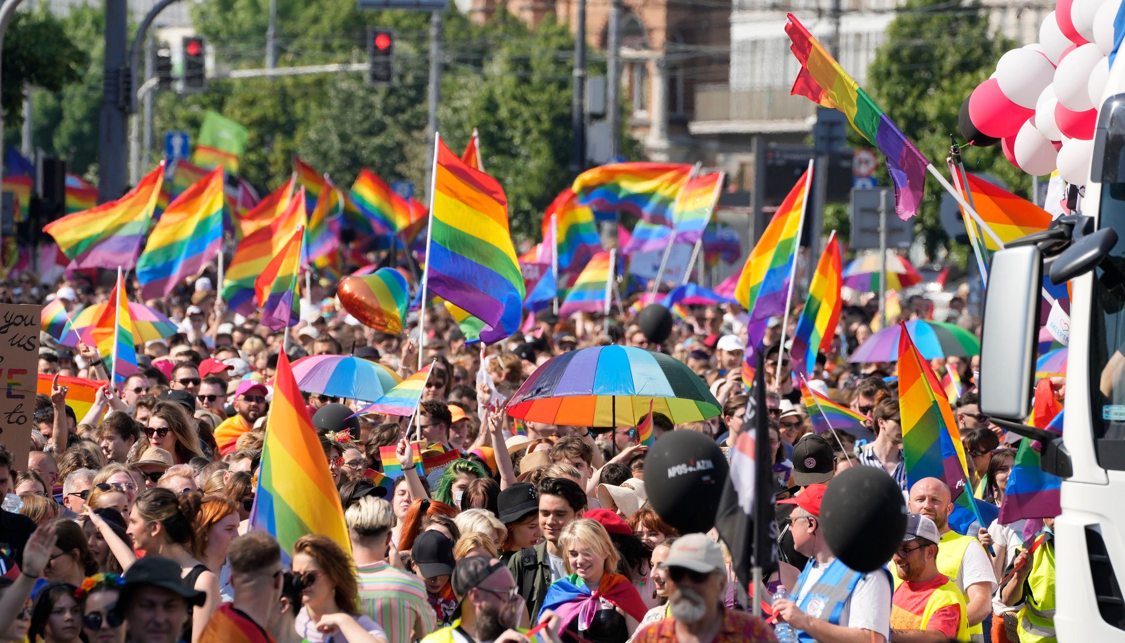 Warsaw pride parade back after backlash and pandemic break 2