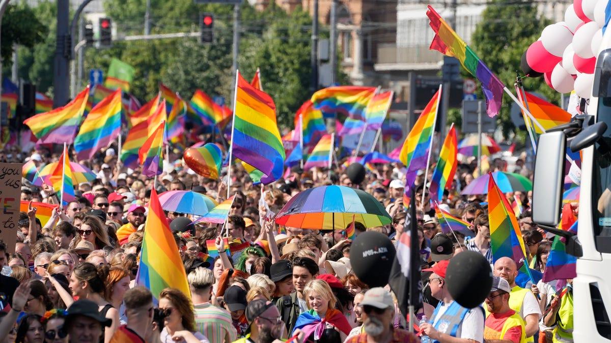Warsaw pride parade back after backlash and pandemic break 3