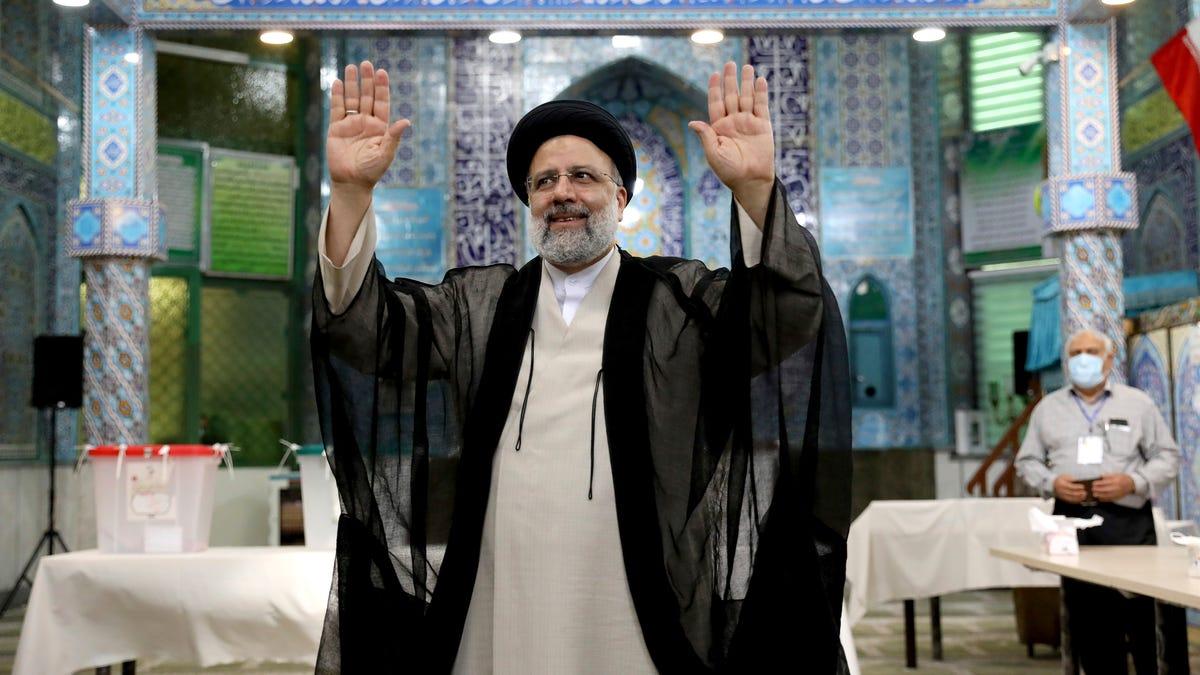 Hard-line judiciary head wins Iran presidency as turnout low 3