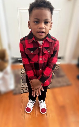 Brison Christian, the 2-year-old victim in the shooting.