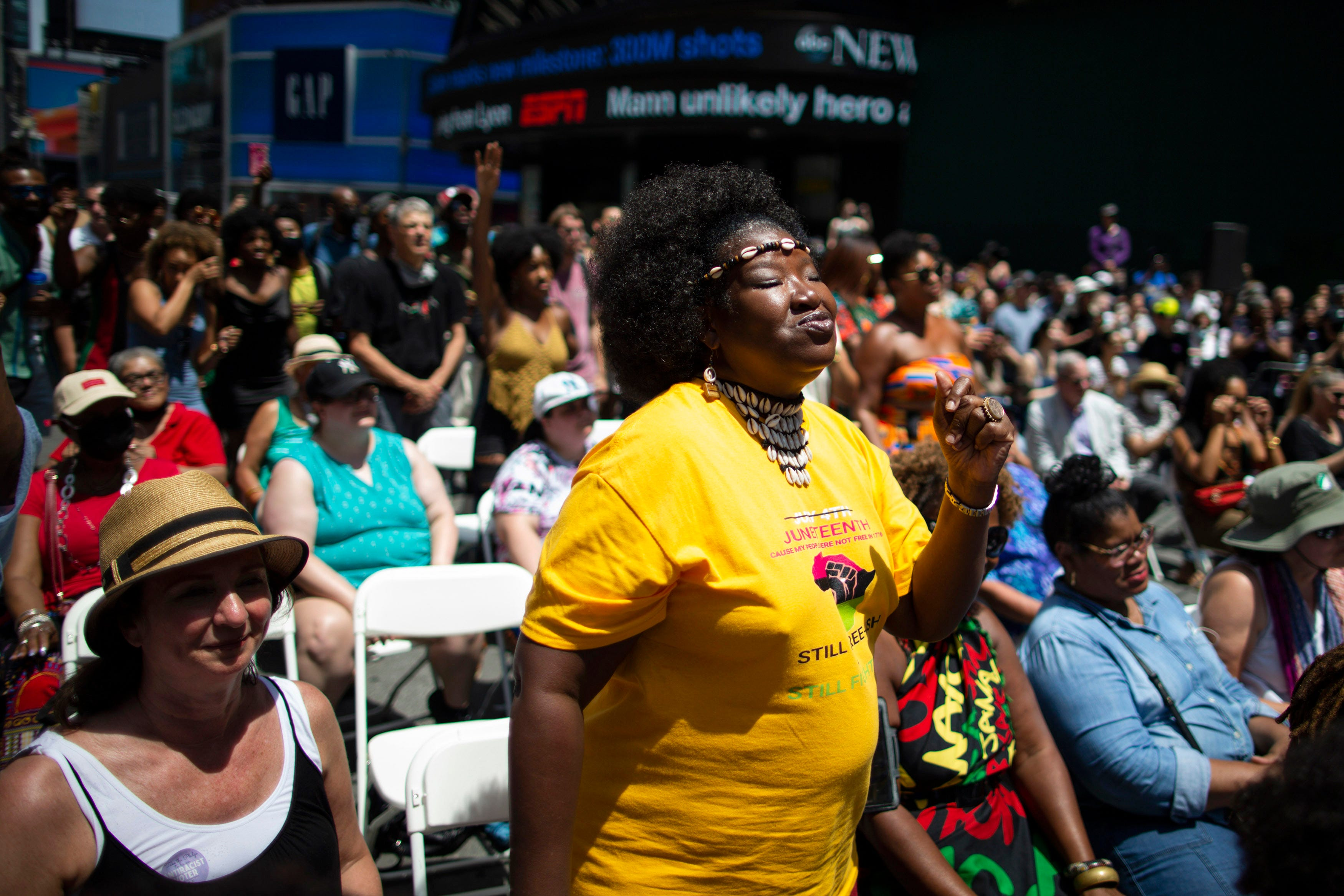 Juneteenth, recalling end of slavery, is marked across US 2