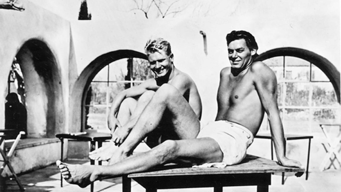 History: Weissmuller, who played Tarzan, famously enjoyed the desert