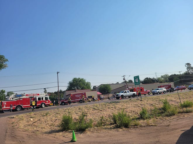 Multiple ground and air resources on scene after 'mass casualty' incident in Show Low.
