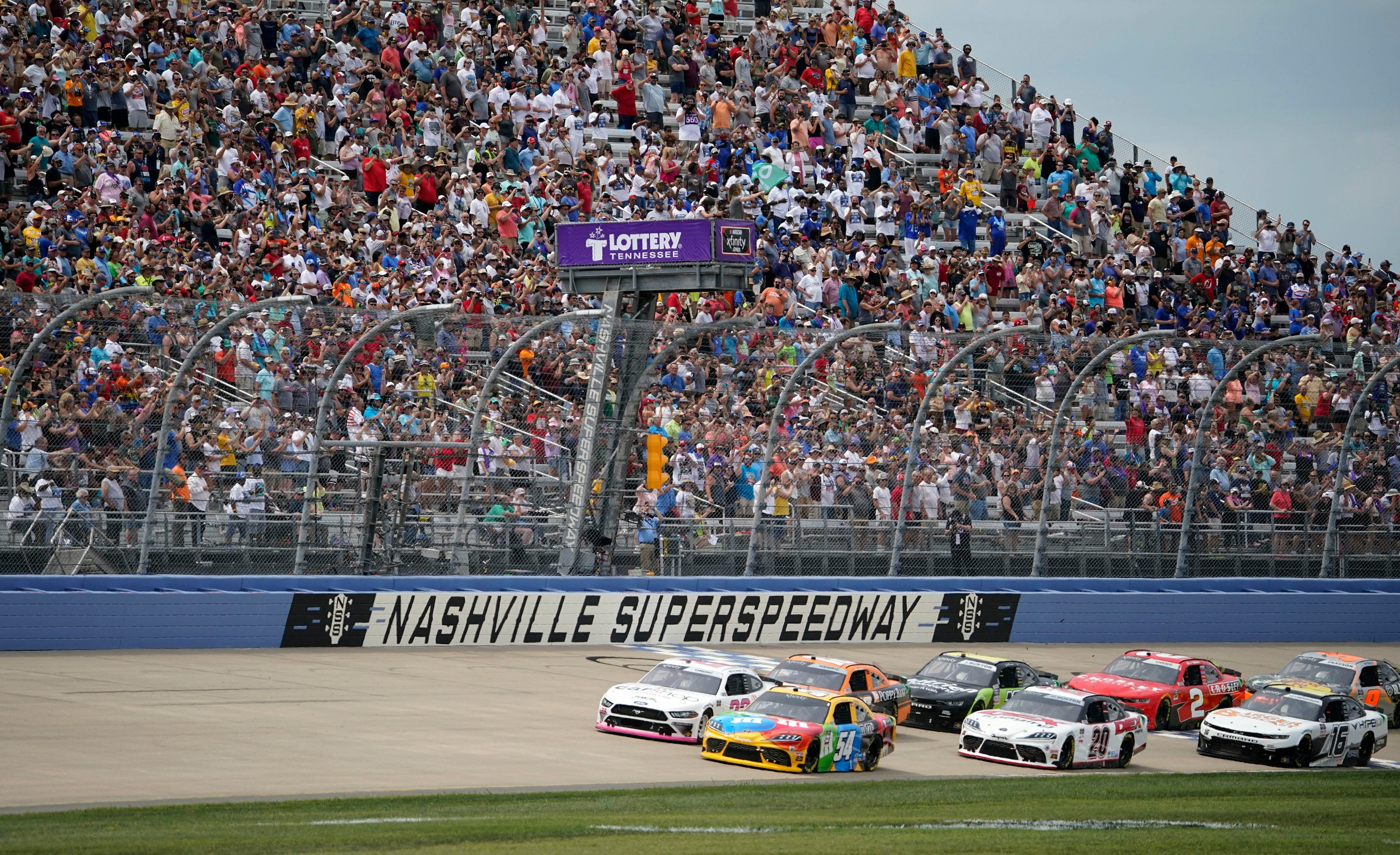 NASCAR at Nashville: Start time, lineup, TV, streaming schedule and more for Ally 400