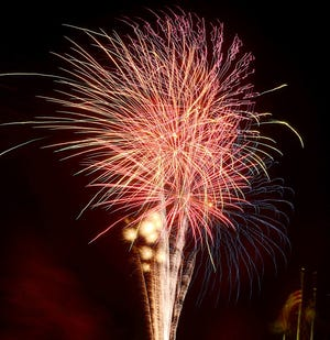 Fireworks will light up the sky over Veterans Memorial Park in Barnwell on June 25, just as they've done in years past.