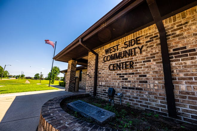 The West Side Community Center is located at 501 S Bucy Ave.