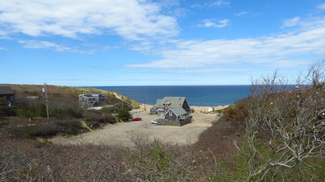 The Beachcomber in Wellfleet has a unique location next to Cahoon Hollow Beach.