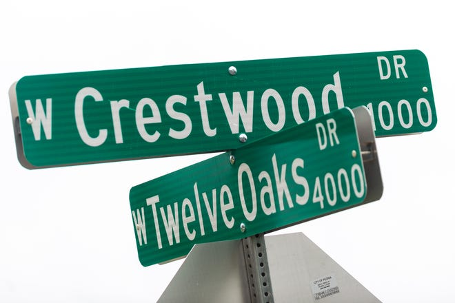 Two men were killed in the 900 block of West Crestwood Drive early on Sunday morning, marking Peoria's 13th and 14th homicides of the year.