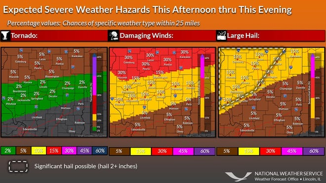 Severe weather outlook on June 20, 2021