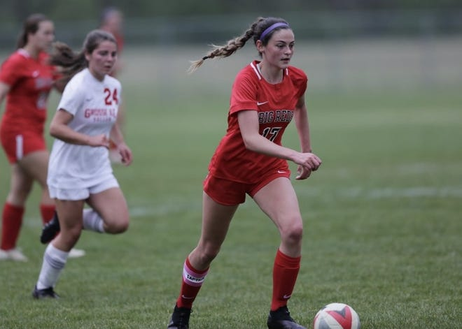 Milan's Ava Johnson is the Monroe County Region Girls Soccer Player of the Year.
