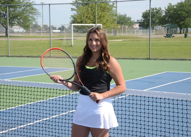 Marisa Rostash of St. Mary Catholic Central is the Monroe County Region Girls Tennis Player of the Year.
