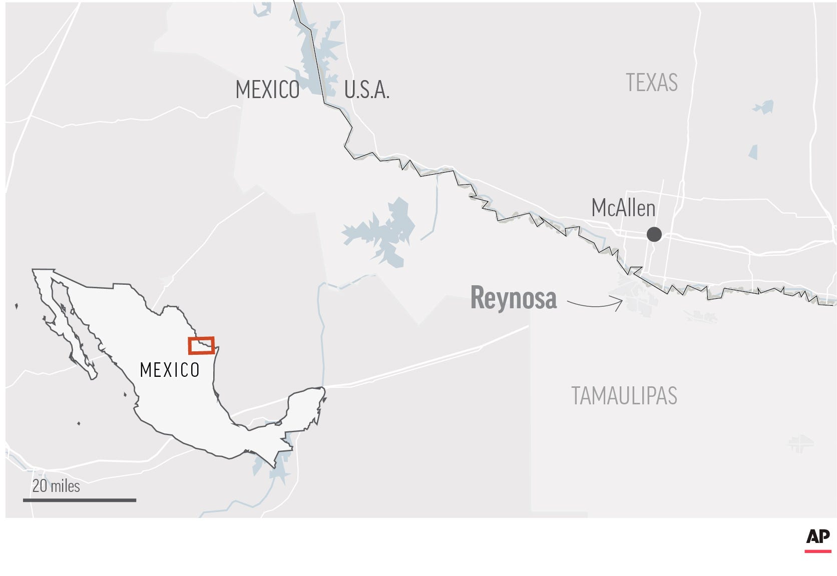 At least 18 killed in violence near US-Mexico border 2