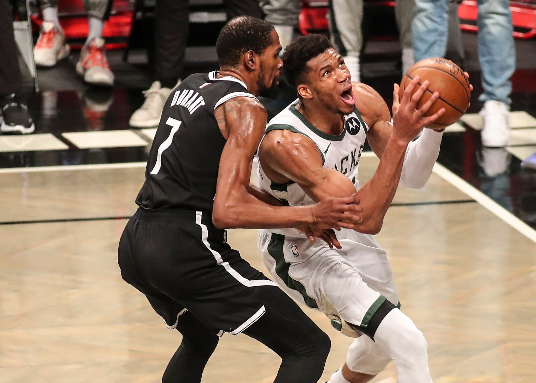 Los Milwaukee Bucks superan a los grandes favoritos Brooklyn Nets en el séptimo partido