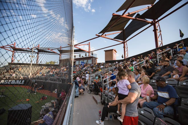People attend a Juneteenth celebration at Presley Askew Field on the New Mexico State University campus on Saturday, June 19, 2021, in Las Cruces.