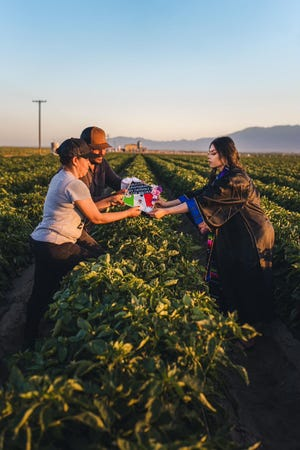 Jennifer Rocha's parents left their native Mexico in search of a better life. By having her work with them in the fields, they wanted to inspire her to pursue the same.