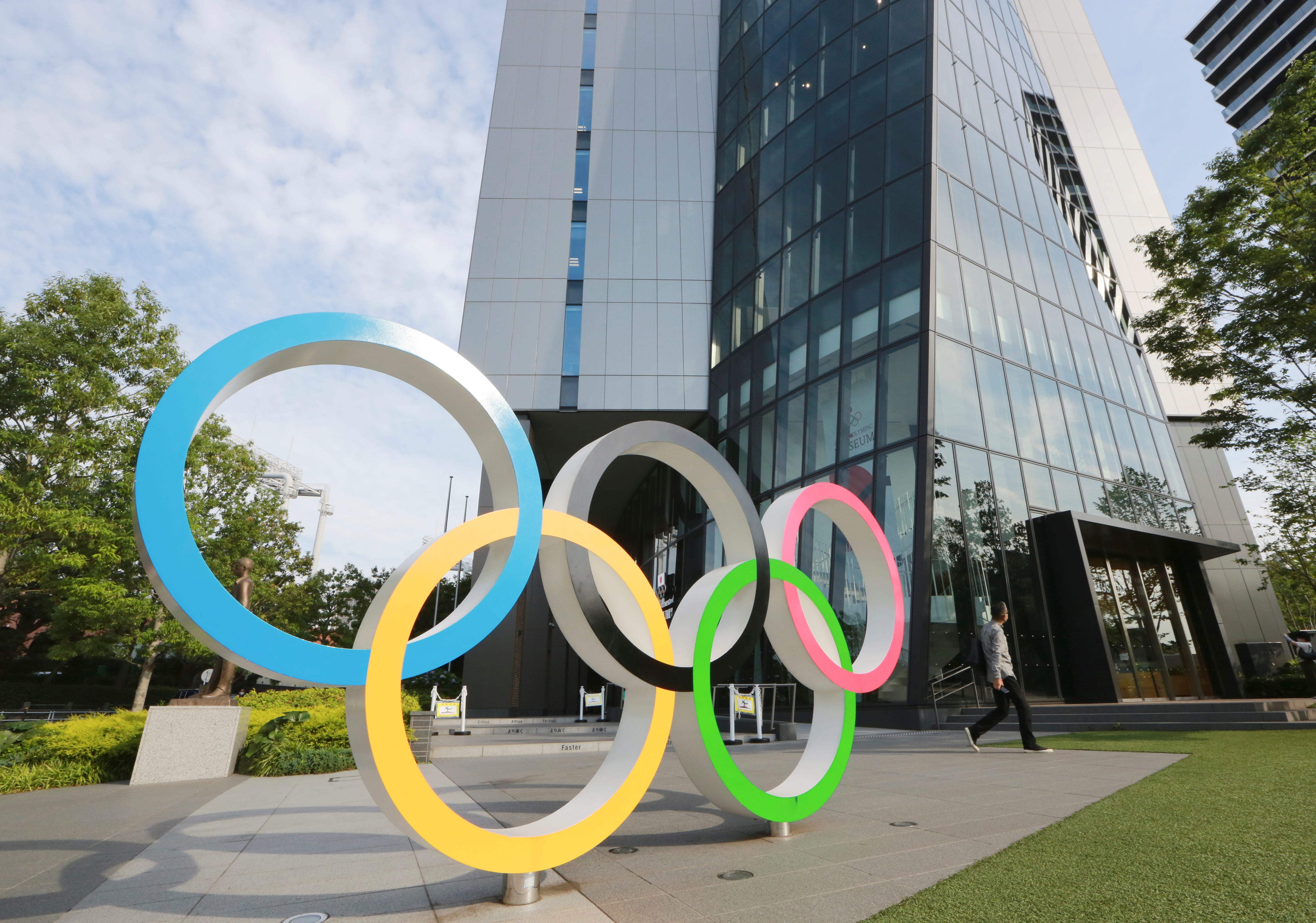 Condoms will be given to Olympic athletes — but not until they re leaving Tokyo Games