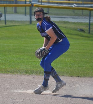 Inland Lakes' Natalie Wandrie earned a spot on the All-Ski Valley Conference softball first team.