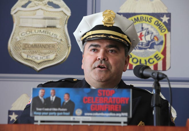 Columbus Division of Police Cmdr. Robert Strausbaugh, who heads major crime investigations, including the homicide unit.