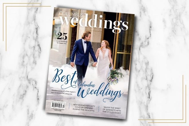 The fall/winter 2021 issue of Columbus Weddings