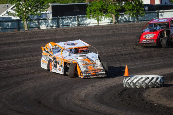 Andy Wagner picked up a win on Thursday night at Norman County Raceway
