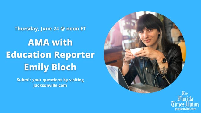 Times-Union education reporter Emily Bloch will host a live AMA Thursday, June 24.