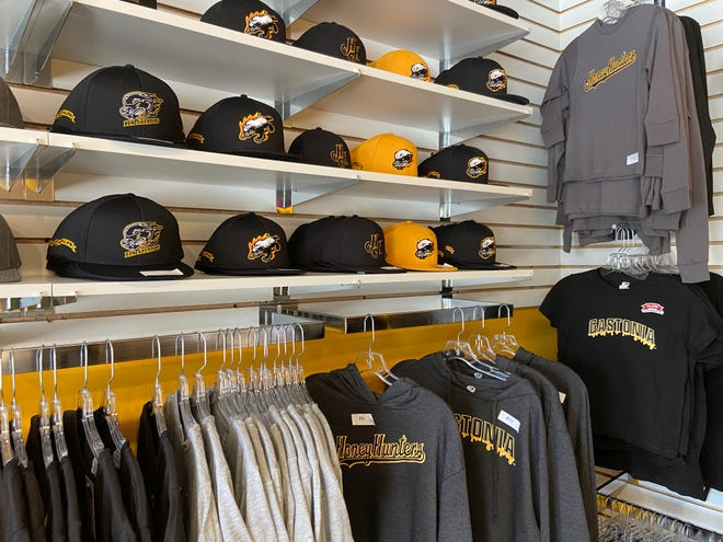 Gastonia Honey Hunters merchandise has been selling at a quick rate following team owner Brandon Bellamy's June 6 interview on ESPN.