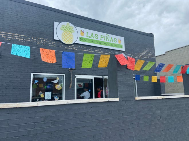 Las Piñas, located at 611 E. Franklin Blvd., during its grand opening on Sunday, June 20, 2021.