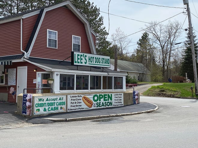 Lee's Hot Dog Stand in Baldwinville as it looks today.