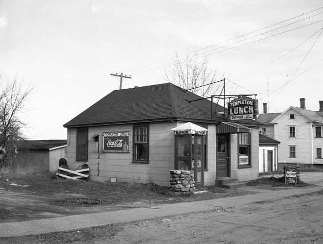 Templeton Lunch as seen in the 1970s.