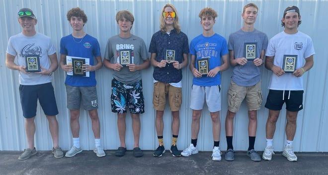 Boys Award Winners
