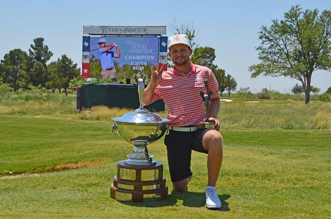 Pottsboro native and University of Houston golfer Austyn Reily won the 112th Texas Amateur Tournament by a stroke at Midland Country Club.