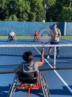 The 3rd annual wheelchair tennis camp for junior athletes took place at Hope College over the weekend