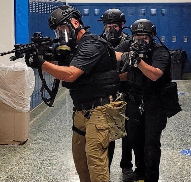 Jackson County's Special Response Team trains to deal with real-world scenarios.