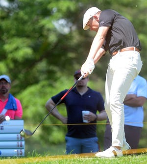 Harry Hall of Cornwall, England, birdied his first four holes on Sunday, charging off to four straight birdies in Sunday's round, winning the Wichita Open.