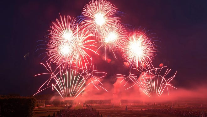 Fireworks are a staple around the country.