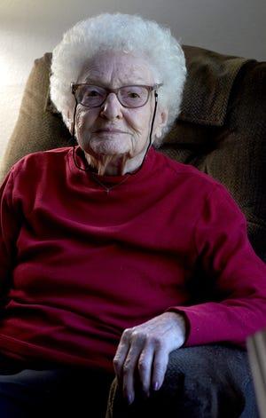 Dorothy Goetz turns 100 today.