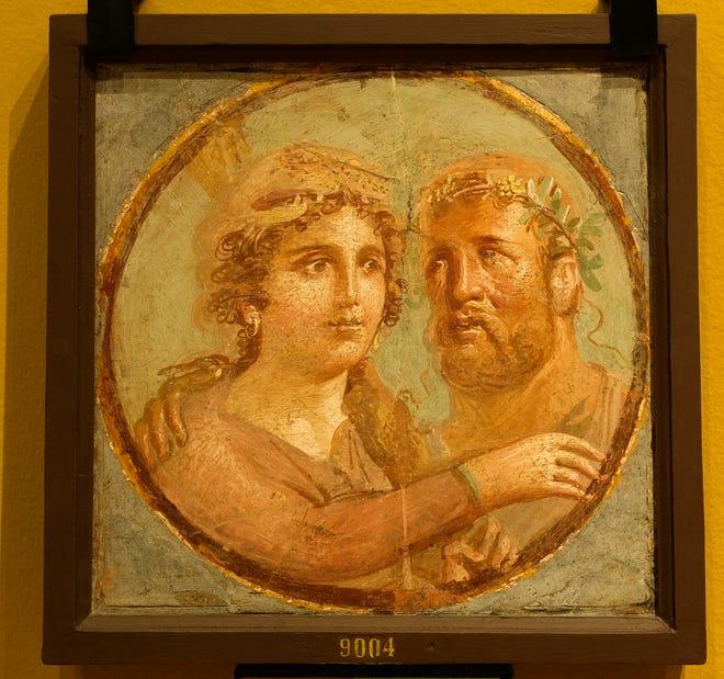 """""""Γκαλερί ζωγράφων της Πομπηίας"""" Στην οθόνη 26 Ιουνίου-Οκτωβρίου.  17 στο Μουσείο Τέχνης της Οκλαχόμα Σίτι."""