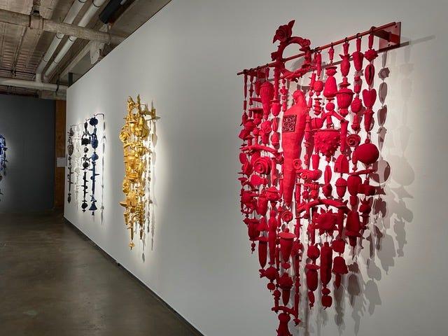 Works by Paul Medina at Artspace at Untitled, 1 NE 3.