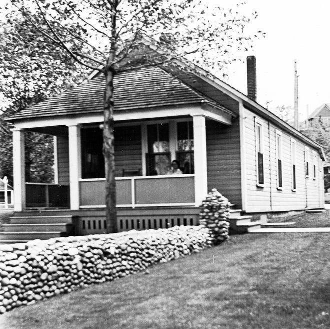 First fish hatchery in Charlevoix, 1903.