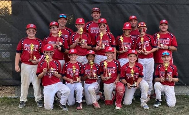 The Roger Allen 11-year-old district team won its age division at the 15th annual Kittredge Memorial Baseball Tournament on Sunday at Roger Allen Park in Rochester. Members of the team included Daniel Altemose, Daudi Chemei, Brayden Comeau, Connor Jackson, Colby Lampert, Caleb Lapierre, Connor Lapierre, Logan Summers, Evan Trepanier, Garrett Truax, Howard Welch and Bailintyn White. Coaches were Bobby Gee, Andrew Jackson, Derek Summers and Clint Lapierre.