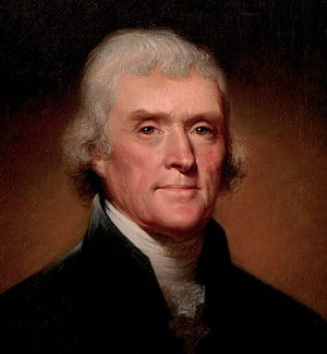 Thomas Jefferson was an American statesman, diplomat, lawyer, architect, philosopher, and Founding Father who served as the third president of the United States from 1801 to 1809.